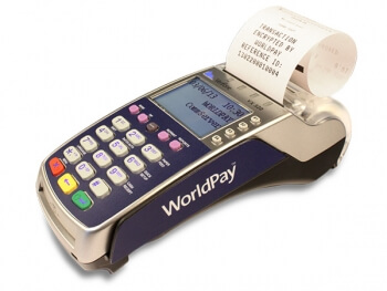 Worldpay Verifone VX-520 Unit